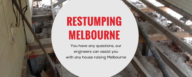 Restumping Burwood Heights