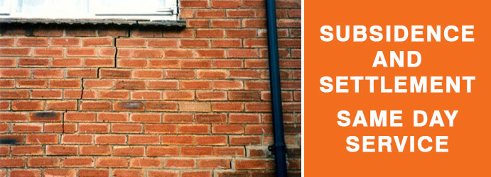 Subsidence and Settlement Melbourne